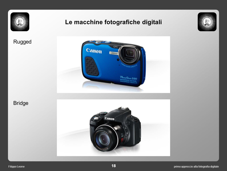 Le macchine fotografiche digitali