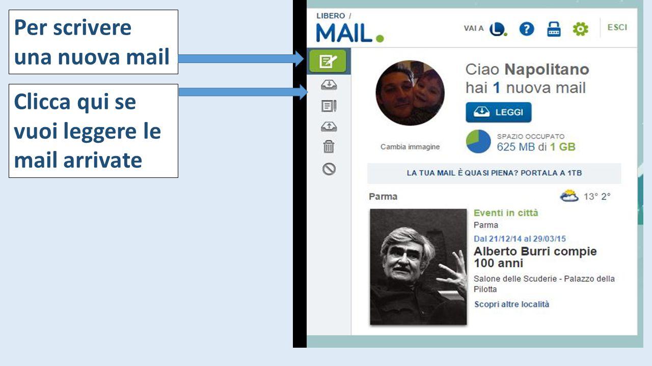 Per scrivere una nuova mail