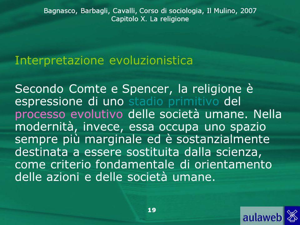 Interpretazione evoluzionistica