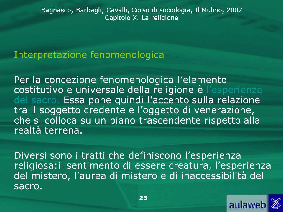 Interpretazione fenomenologica