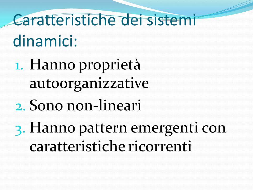 Caratteristiche dei sistemi dinamici: