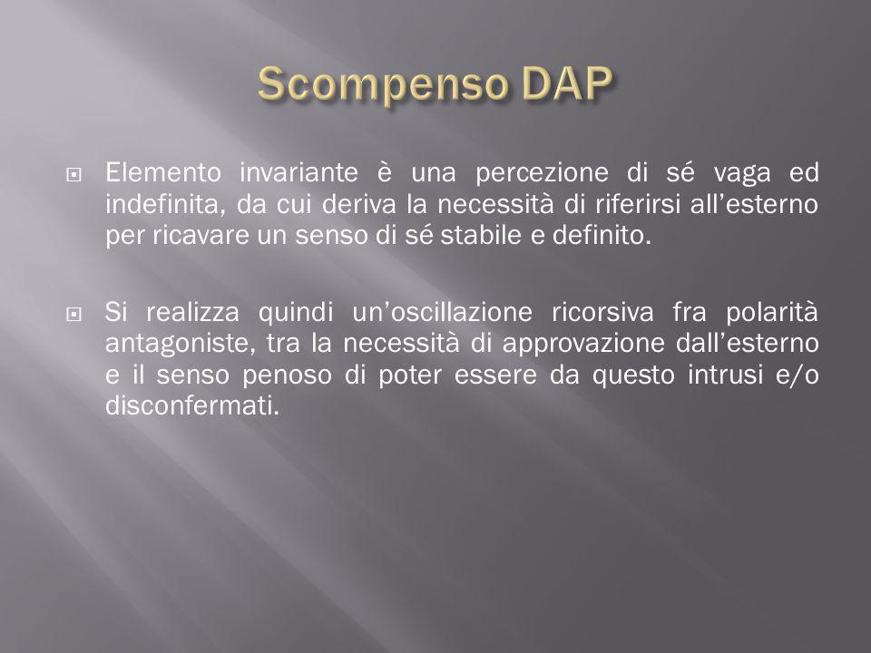 Scompenso DAP