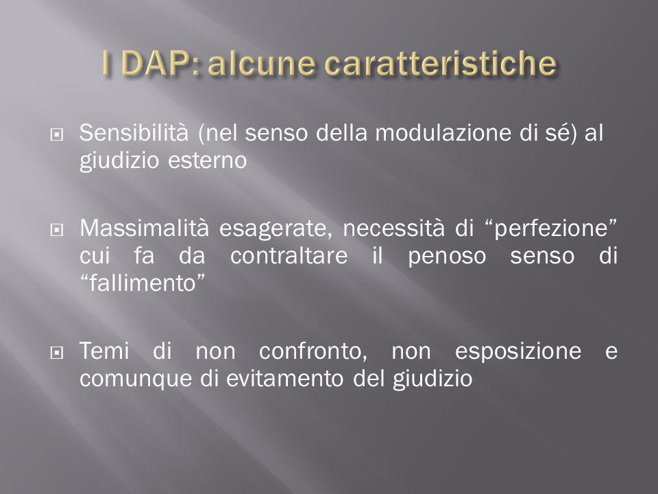 I DAP: alcune caratteristiche