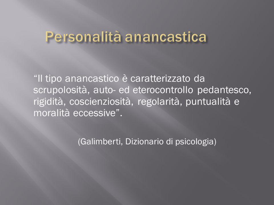 Personalità anancastica