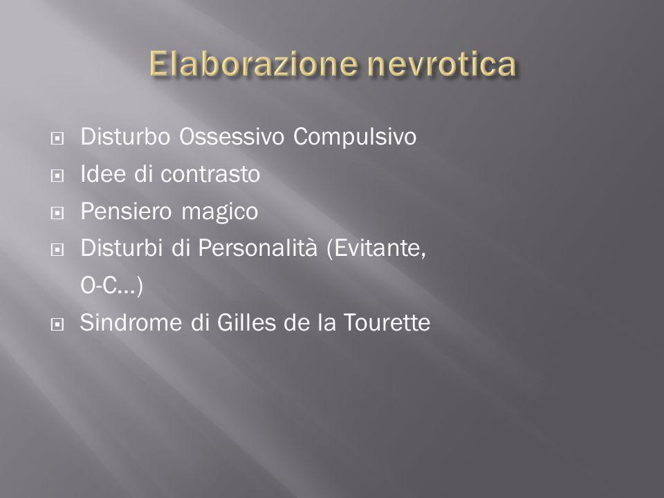 Elaborazione nevrotica