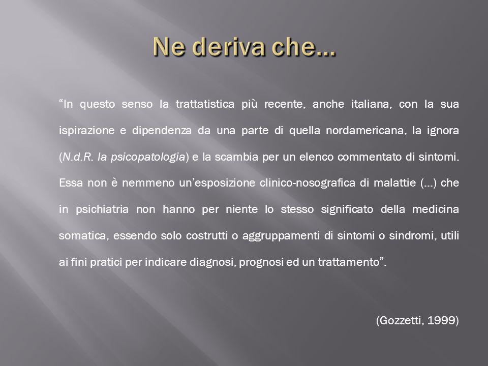 Ne deriva che… (Gozzetti, 1999)