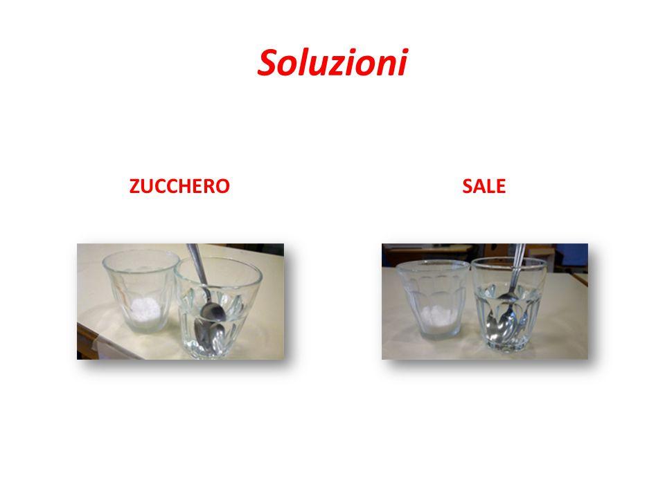 Soluzioni ZUCCHERO SALE