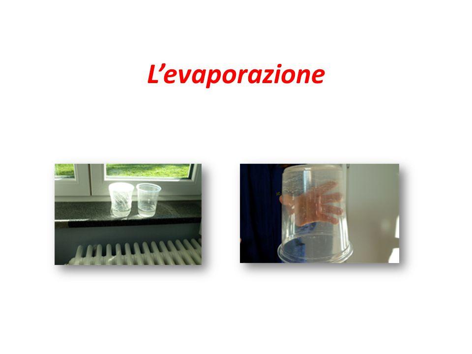 L'evaporazione