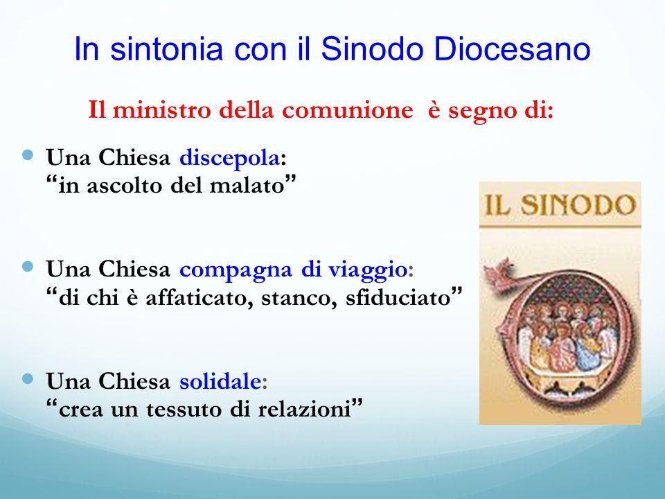 In sintonia con il Sinodo Diocesano