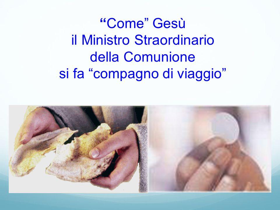Come Gesù il Ministro Straordinario della Comunione si fa compagno di viaggio