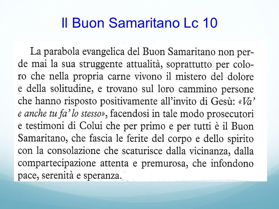 Il Buon Samaritano Lc 10