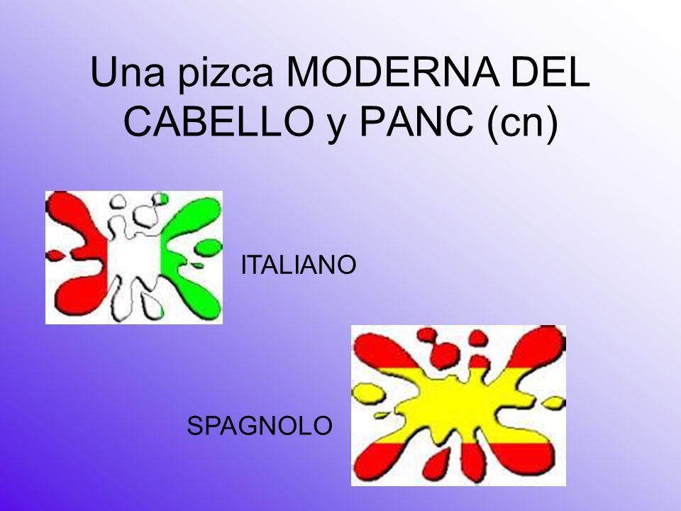 Una pizca MODERNA DEL CABELLO y PANC (cn)