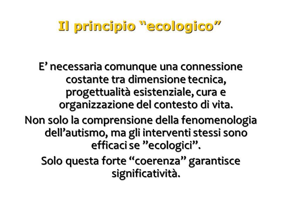 Il principio ecologico