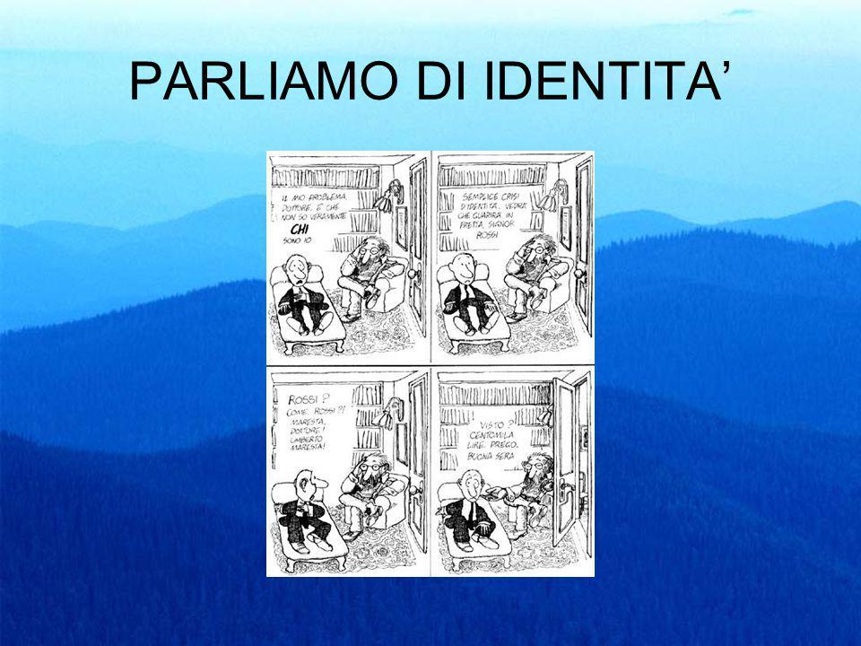 PARLIAMO DI IDENTITA'