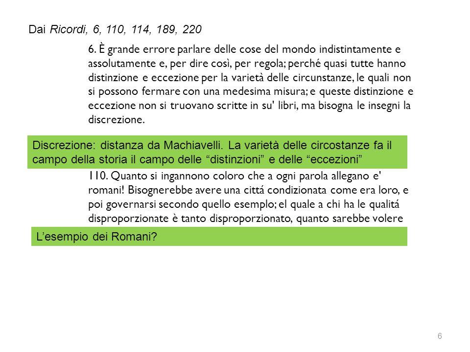 Dai Ricordi, 6, 110, 114, 189, 220