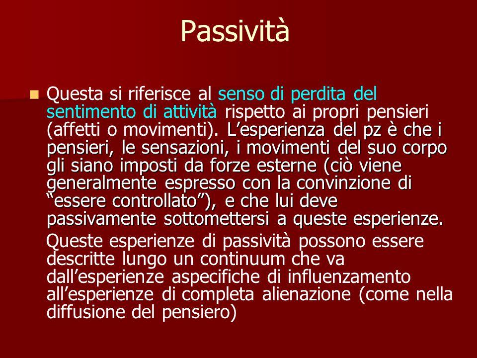 Passività