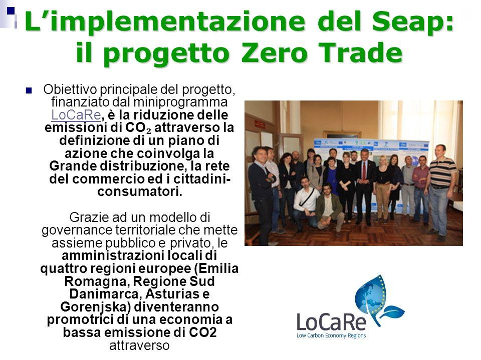 L'implementazione del Seap: il progetto Zero Trade
