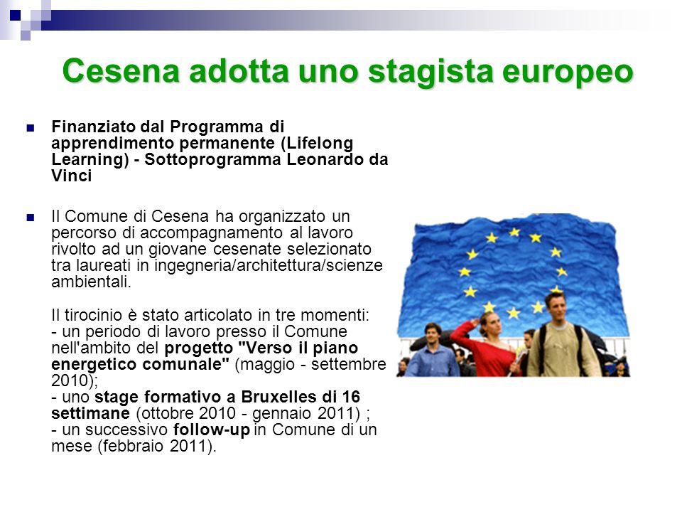 Cesena adotta uno stagista europeo