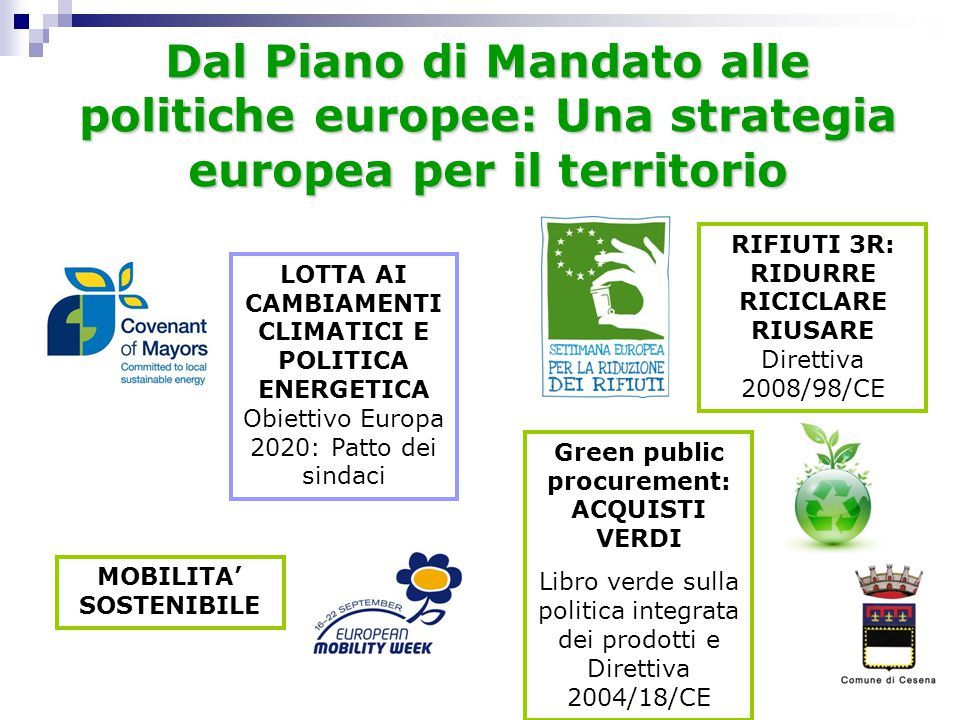 Green public procurement: ACQUISTI VERDI