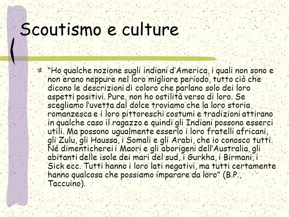 Scoutismo e culture