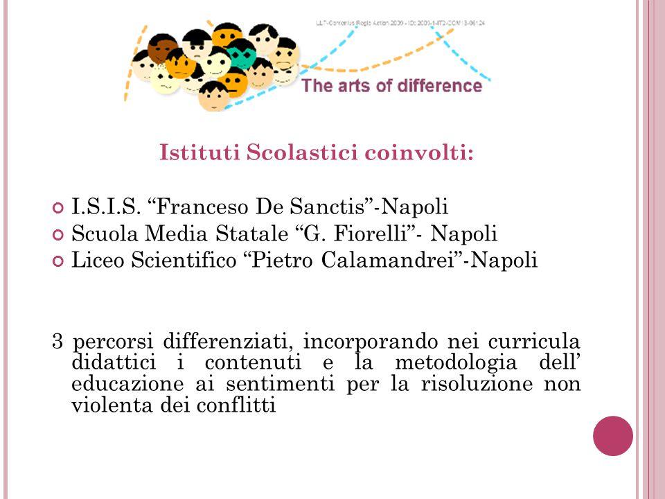 Istituti Scolastici coinvolti: I.S.I.S. Franceso De Sanctis -Napoli