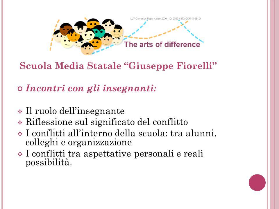 Scuola Media Statale Giuseppe Fiorelli Incontri con gli insegnanti: