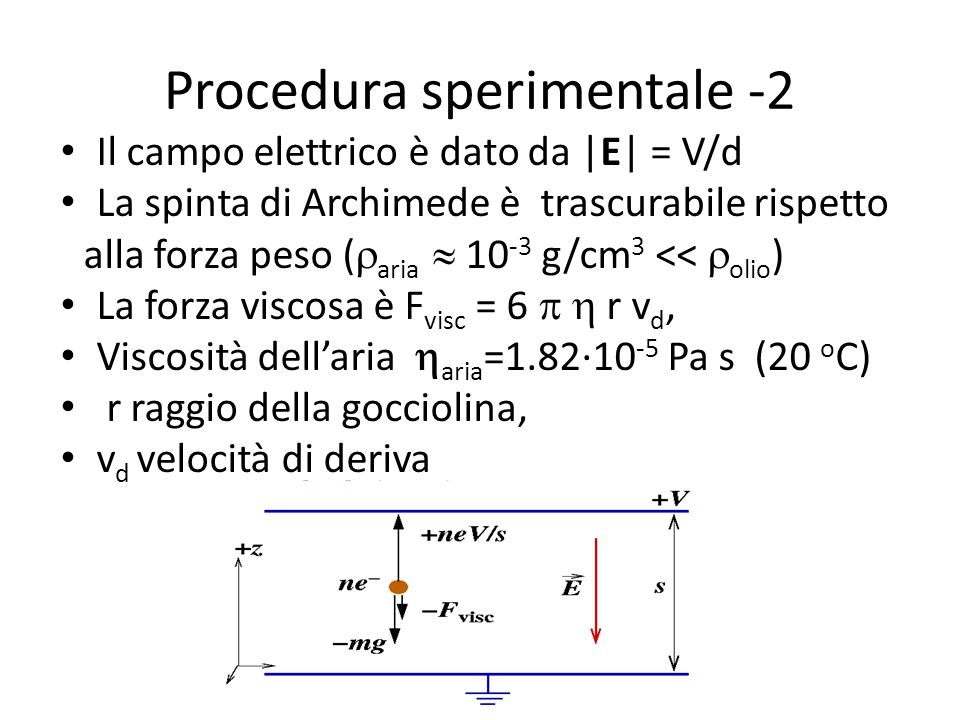 Procedura sperimentale -2