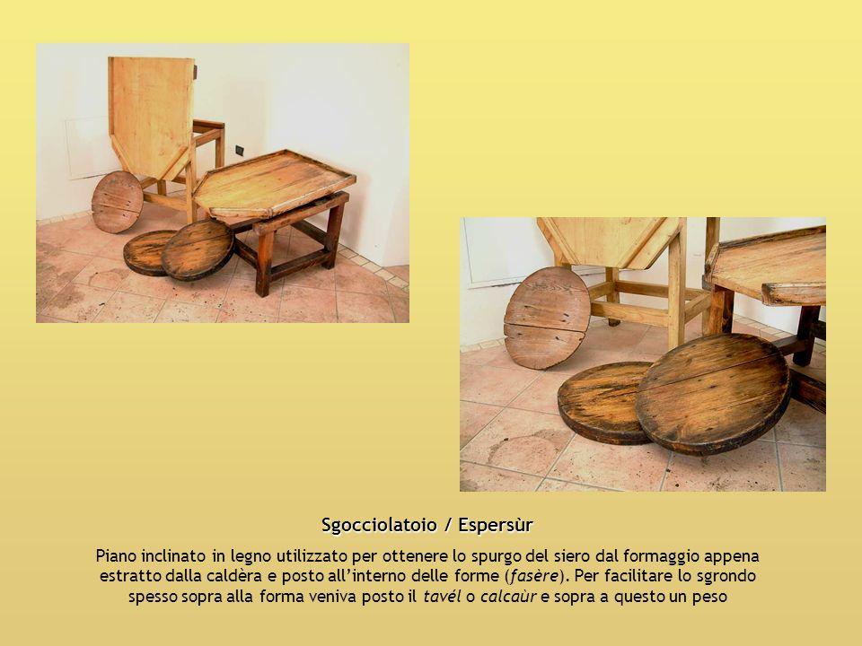 Sgocciolatoio / Espersùr