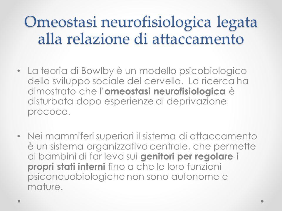 Omeostasi neurofisiologica legata alla relazione di attaccamento