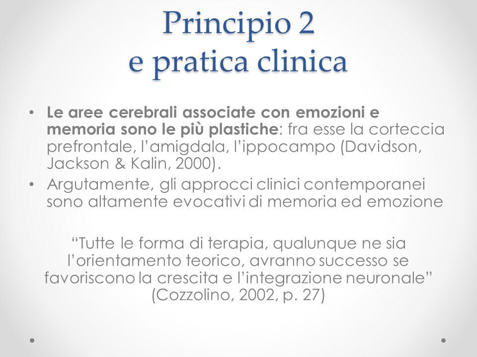 Principio 2 e pratica clinica