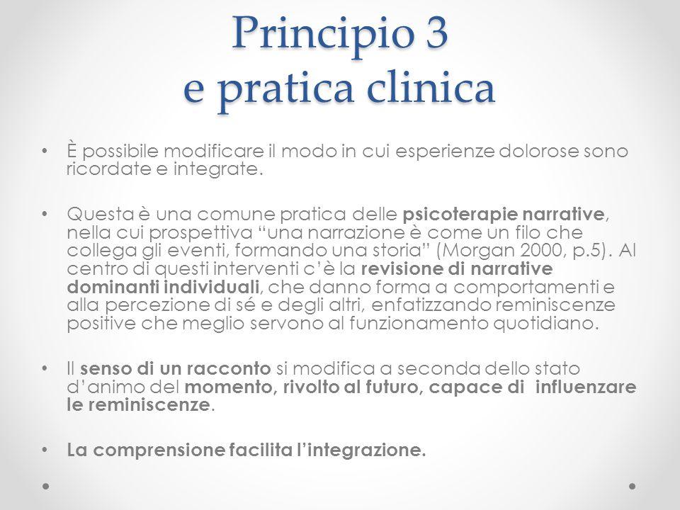 Principio 3 e pratica clinica