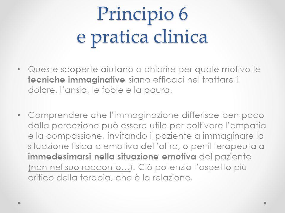 Principio 6 e pratica clinica