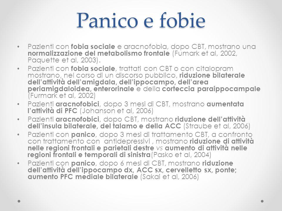 Panico e fobie