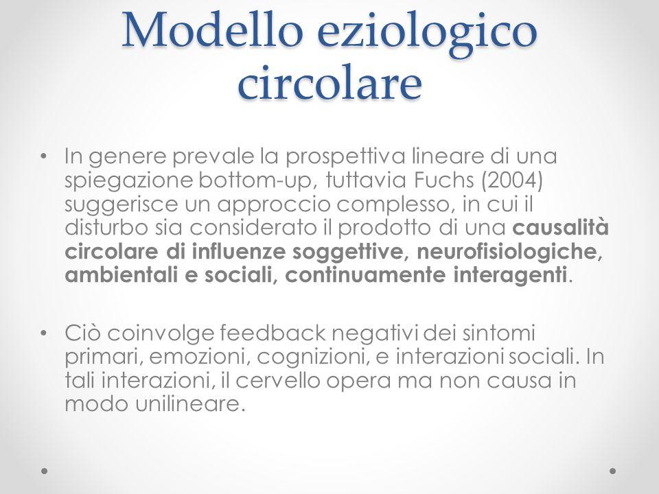 Modello eziologico circolare