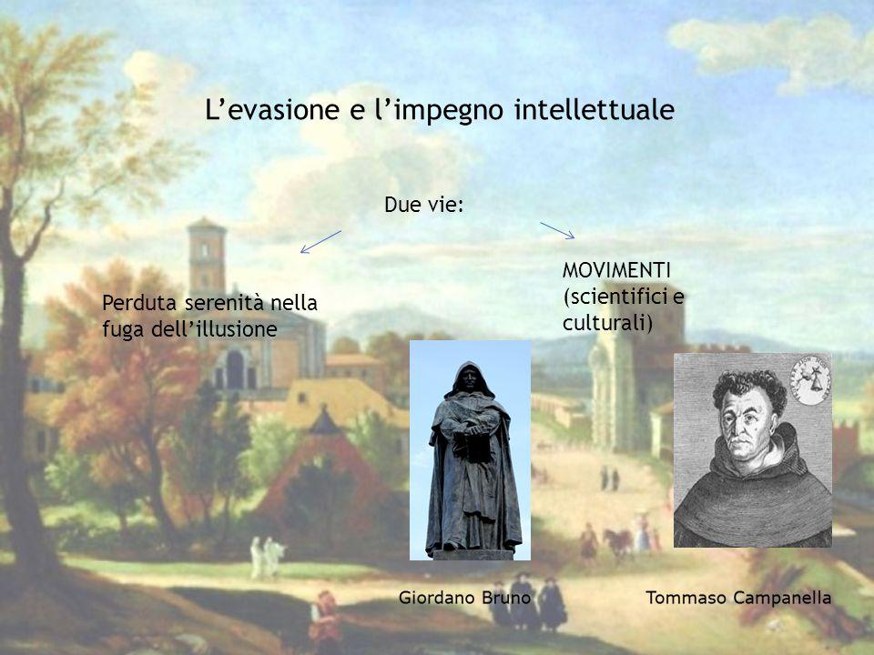 L'evasione e l'impegno intellettuale