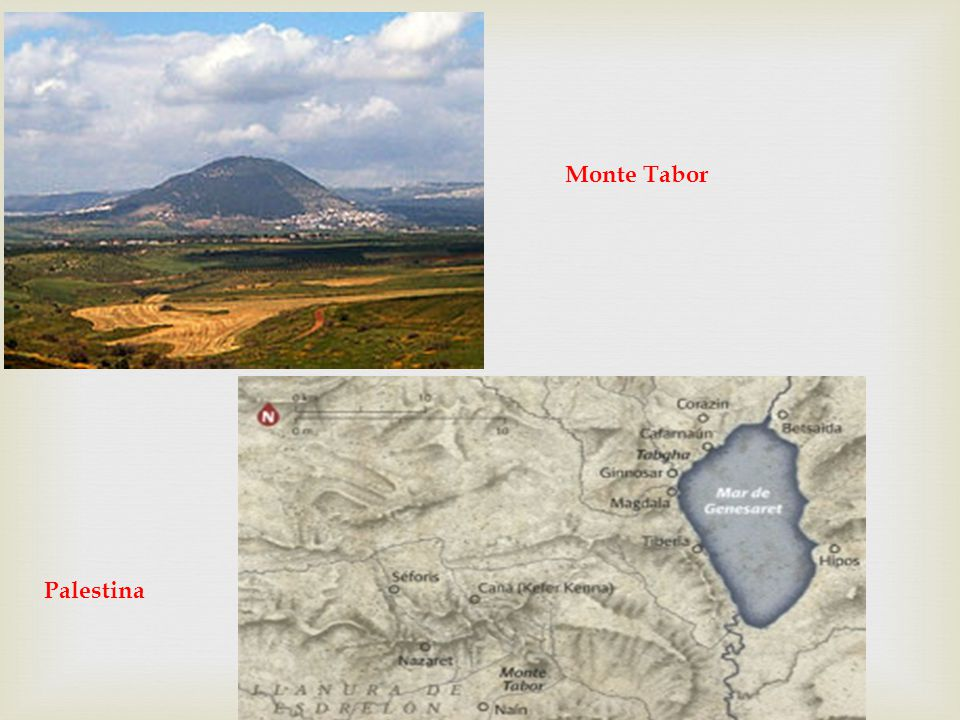 Monte Tabor Palestina