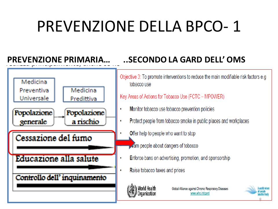 PREVENZIONE DELLA BPCO- 1