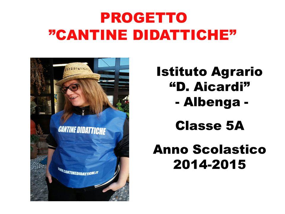 Istituto Agrario D. Aicardi - Albenga - Classe 5A Anno Scolastico