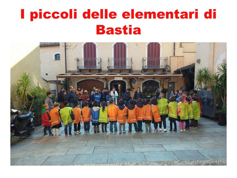 I piccoli delle elementari di Bastia