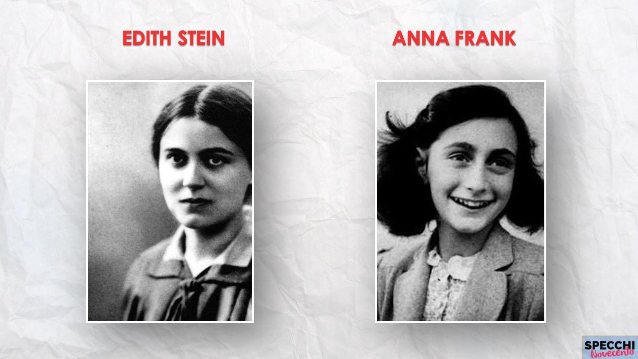 Edith STEIN Anna FRANK