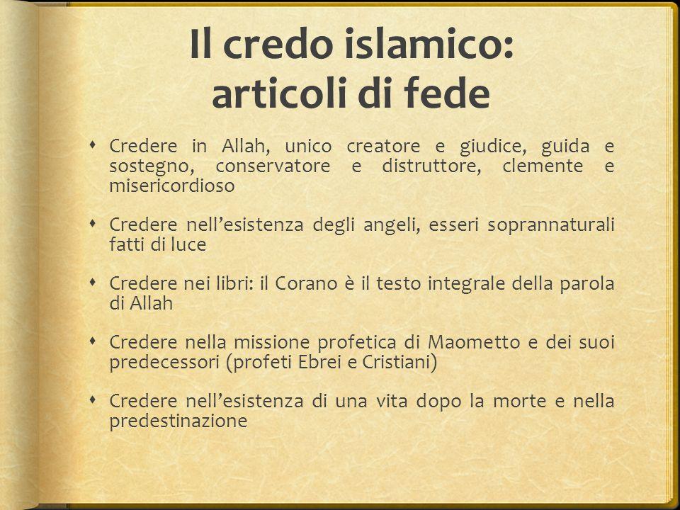 Il credo islamico: articoli di fede