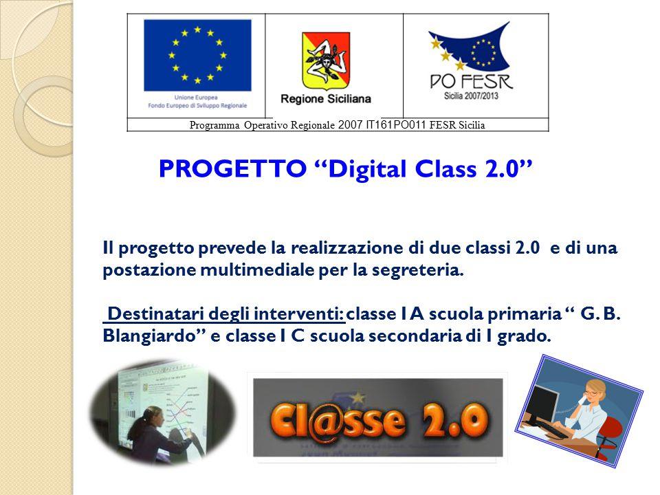 PROGETTO Digital Class 2.0