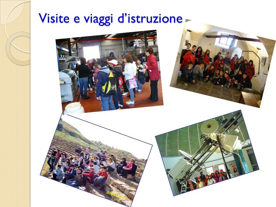 Visite e viaggi d'istruzione