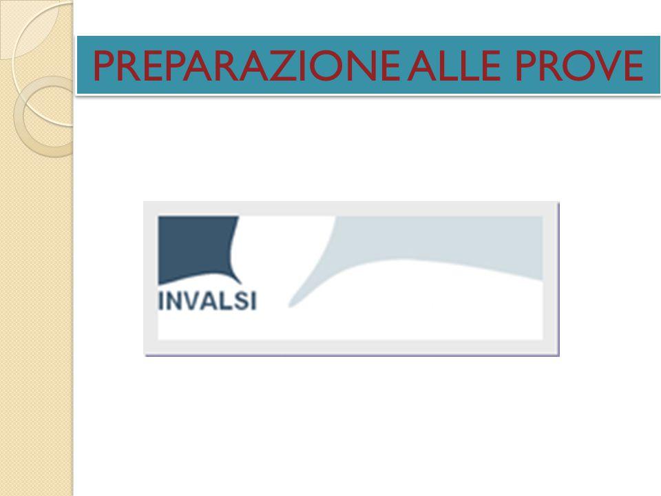 PREPARAZIONE ALLE PROVE