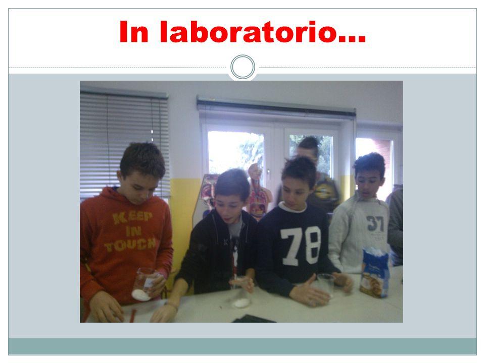 In laboratorio…