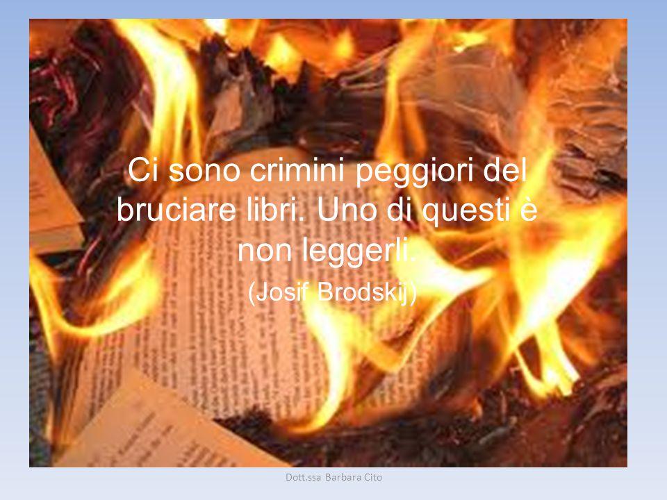 Ci sono crimini peggiori del bruciare libri