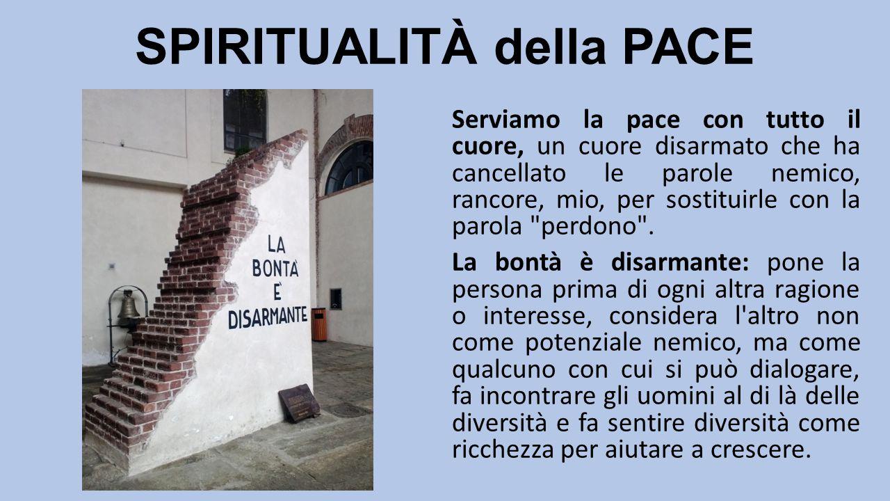 SPIRITUALITÀ della PACE