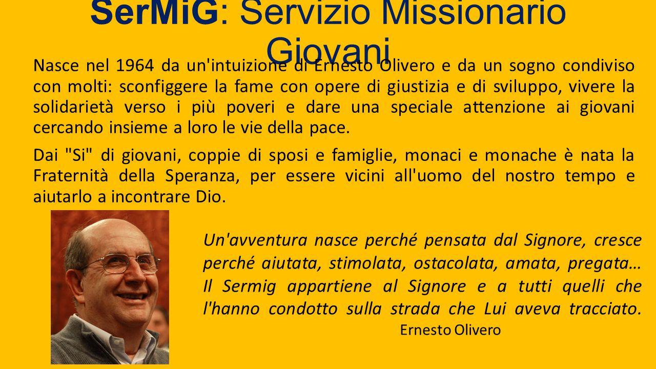 SerMiG: Servizio Missionario Giovani