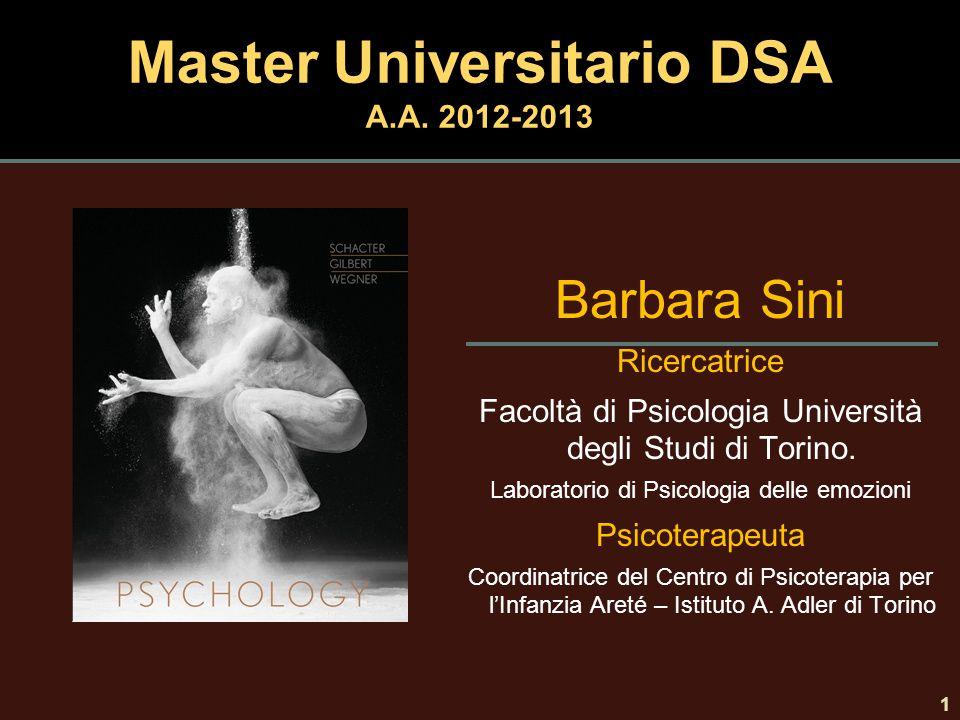 Master Universitario DSA A.A. 2012-2013