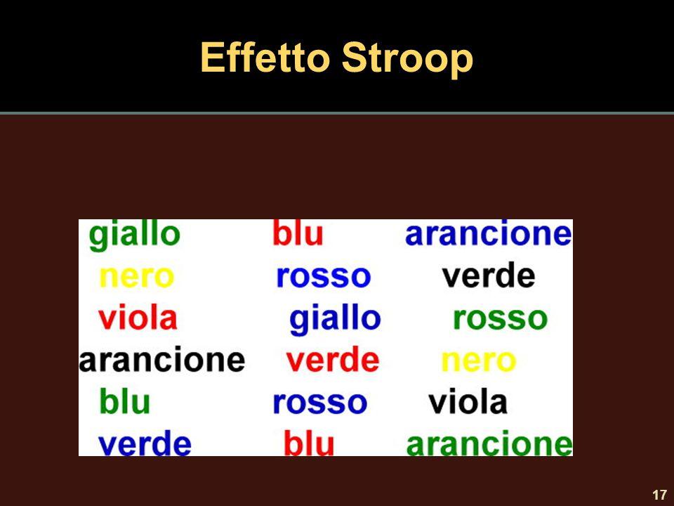 Effetto Stroop